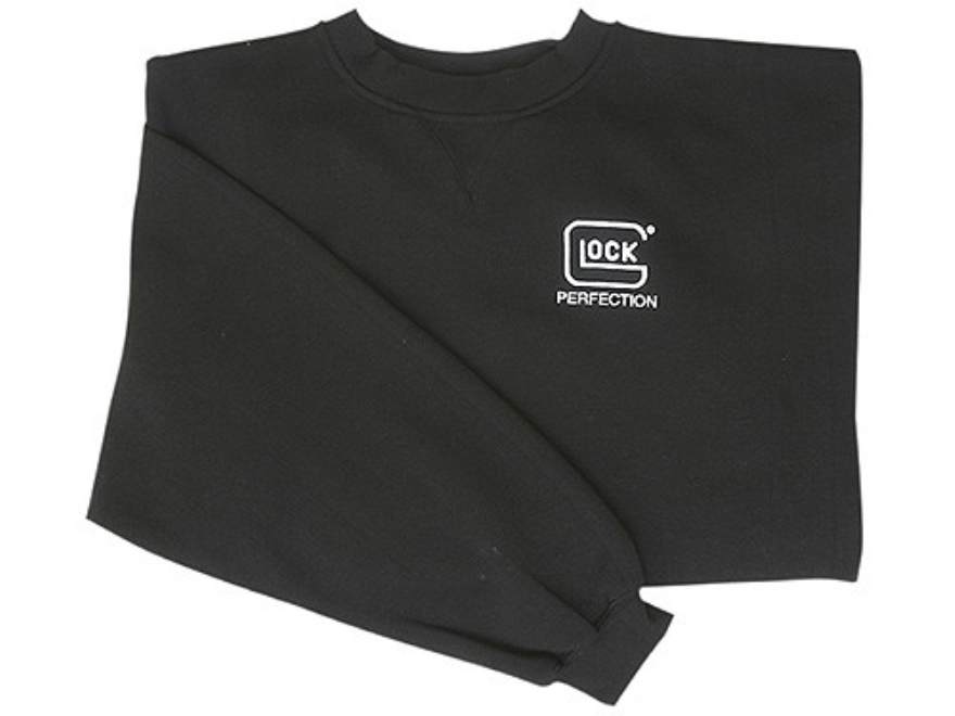 Glock Men's Logo Crewneck Sweatshirt Cotton Polyester