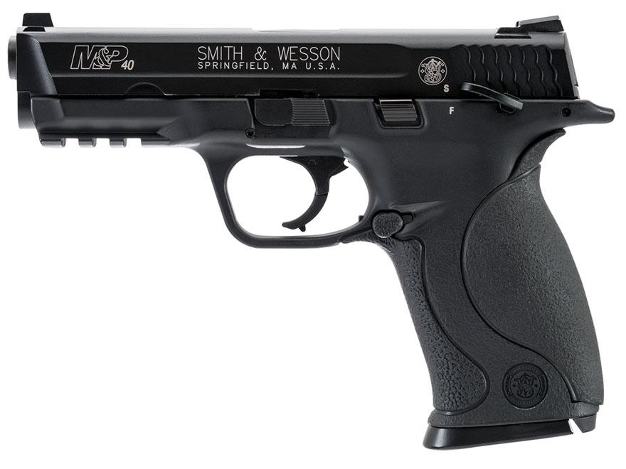 Smith & Wesson M&P 40 Air Pistol 177 Caliber BB Rubber Grip Black
