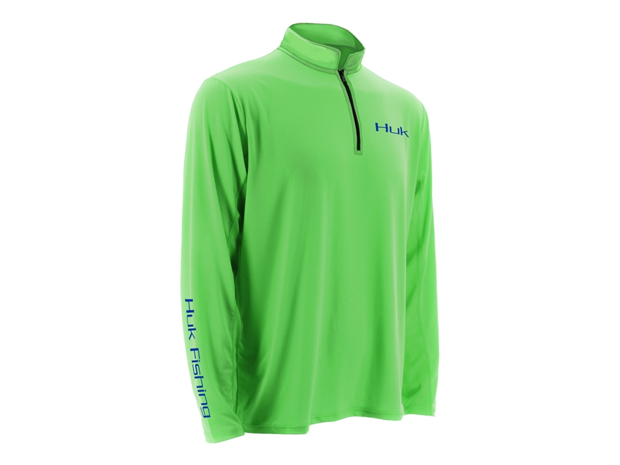 Huk Men's Icon 1/4 Performance Shirt Long Sleeve Polyester