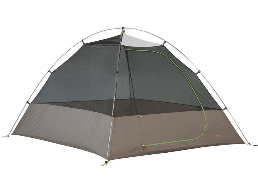 "Kelty Grand Mesa 4 Person Dome Tent 98"" x 80"" x 56"" Polyester Green and Grey"