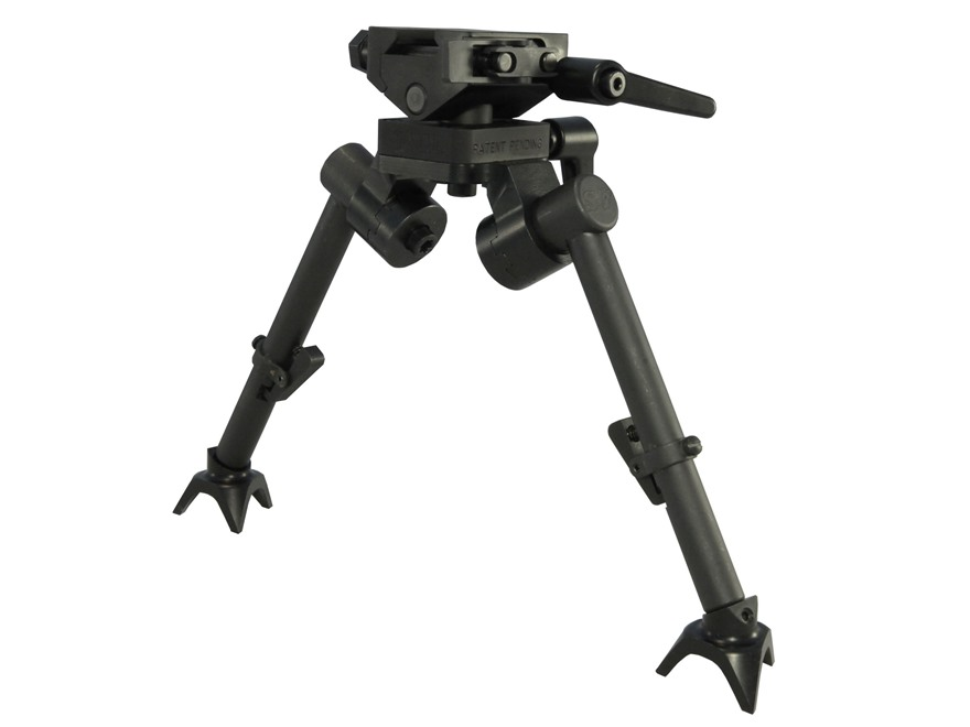 Sierra 7 Bipod 1913 Picatinny Rail Mount Steel Black