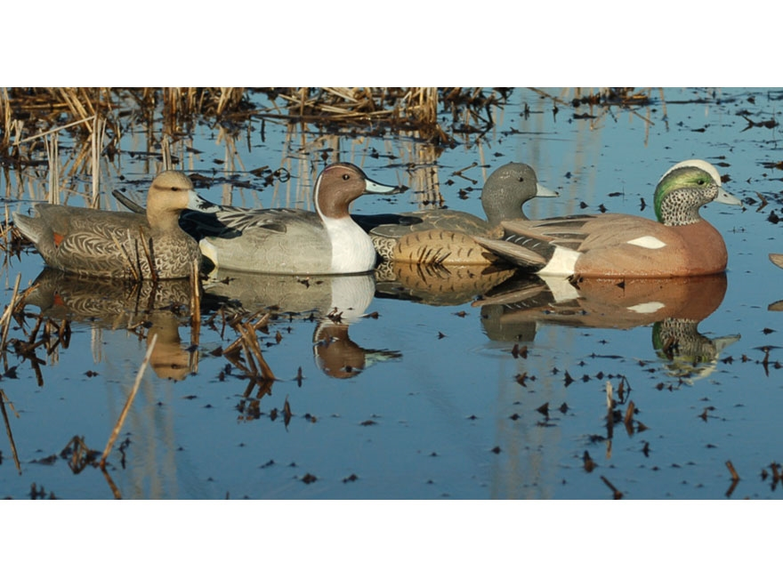 GHG Life-Size Puddler II Duck Decoy Pack of 6