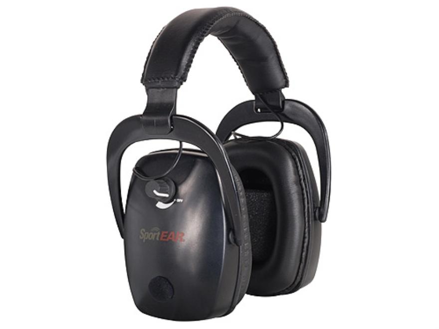 SportEAR Electronic Earmuffs XT2 (NRR 25dB) Black