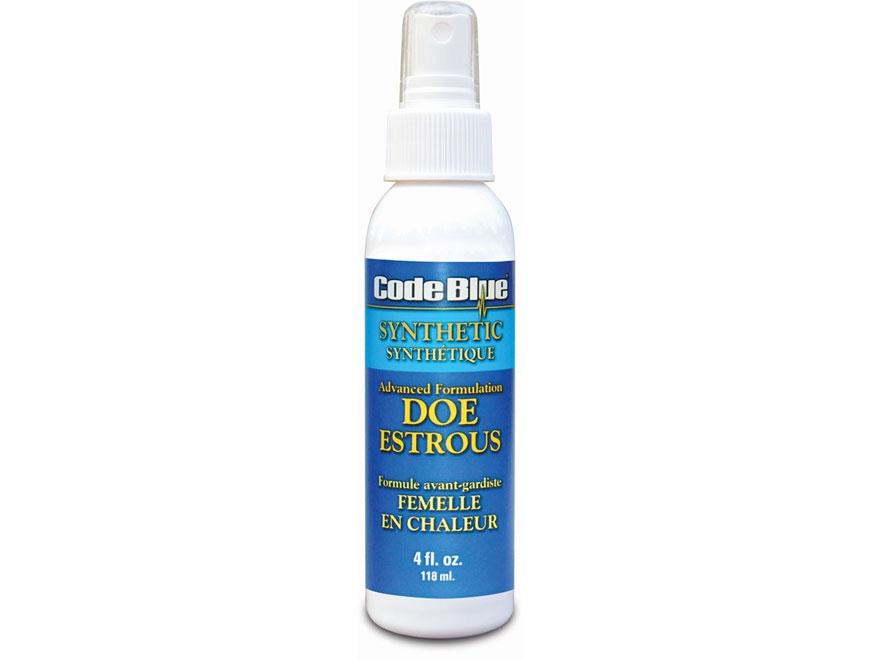Code Blue Synthetic Estrous Deer Scent Liquid 4 oz