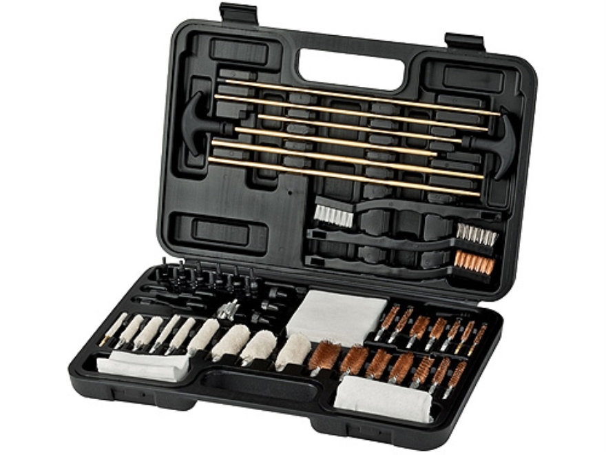 Outers 62-Piece Specialty Universal Cleaning Kit with Blow-Molded Hard Plastic Case