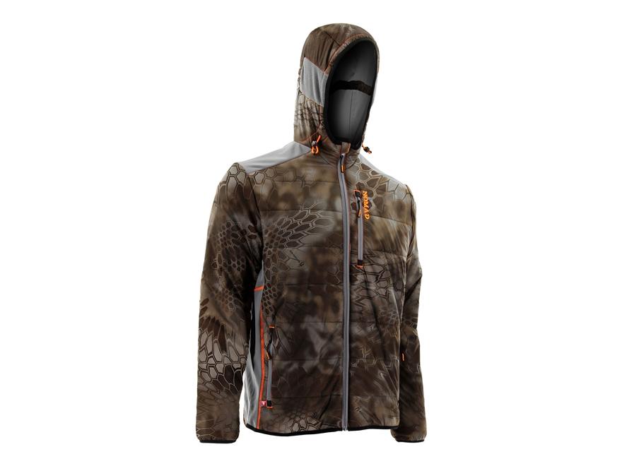 NOMAD Men's Dunn Primaloft Insulated Jacket Polyester Kryptek Banshee Camo