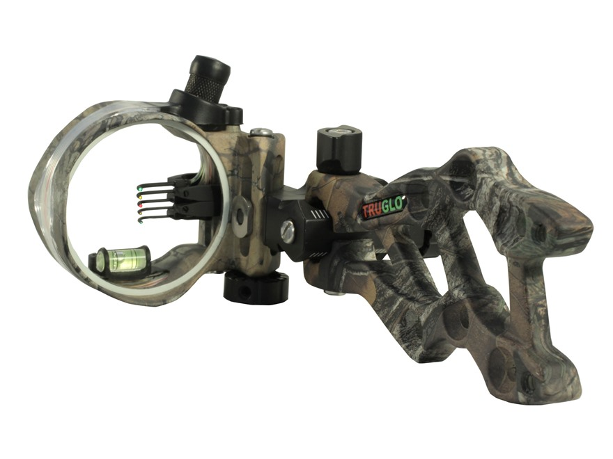 TRUGLO Rival Hunter Bow Sight .029, .019 and .010 Diameter Pins