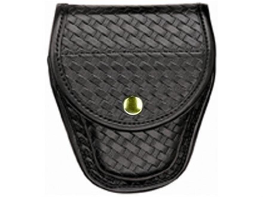 Bianchi 7900 AccuMold Elite Covered Cuff Case Basketweave Trilaminate Black