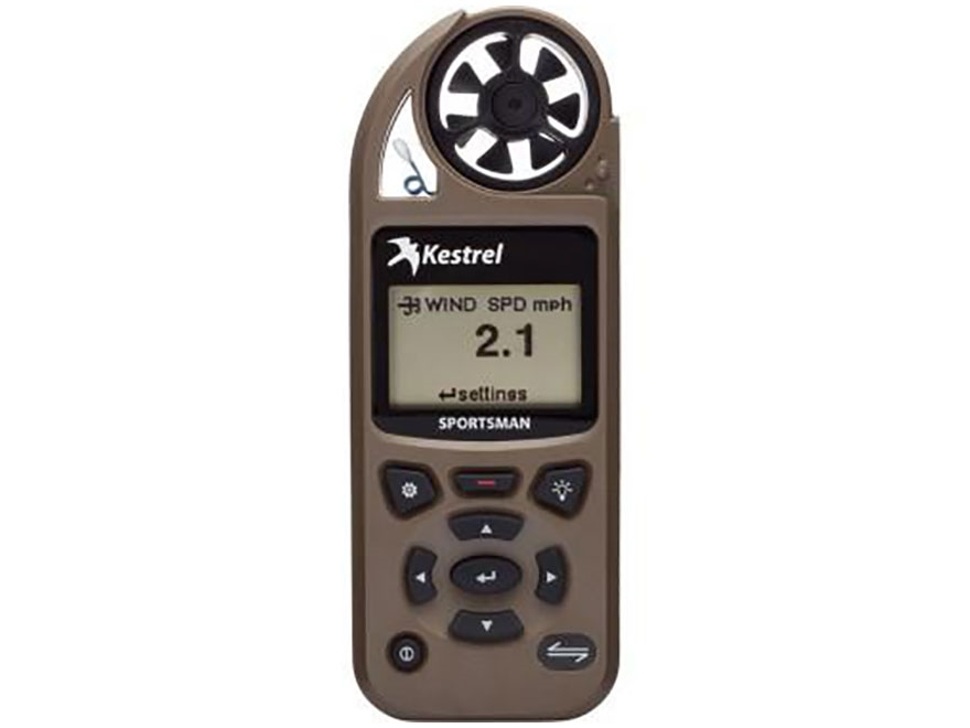 Kestrel 5700 Sportsman Hand Held Weather Meter with Applied Ballistics with LINK and Va...