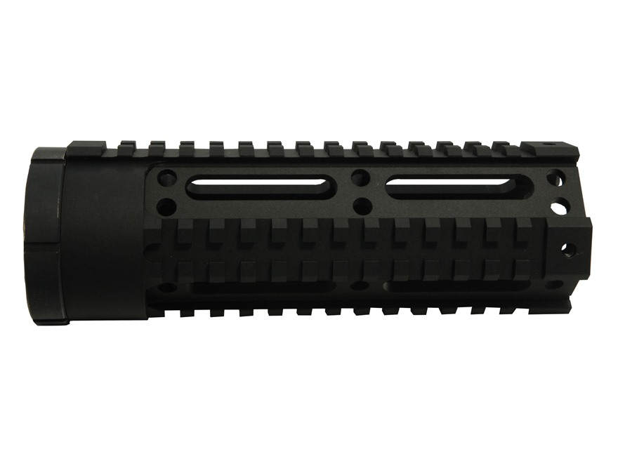 DPMS Free Float Tube Handguard Low Quad Rail LR-308 Carbine Length Aluminum Matte