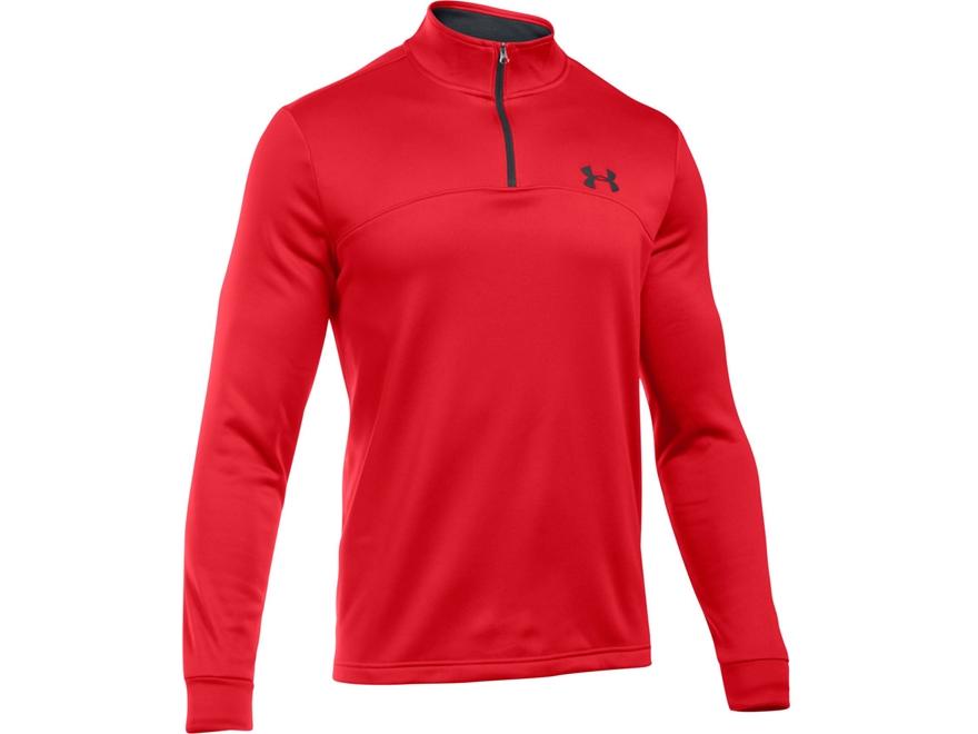 Under Armour Men's UA AF Franchise 1/4 Zip Shirt Long Sleeve Polyester