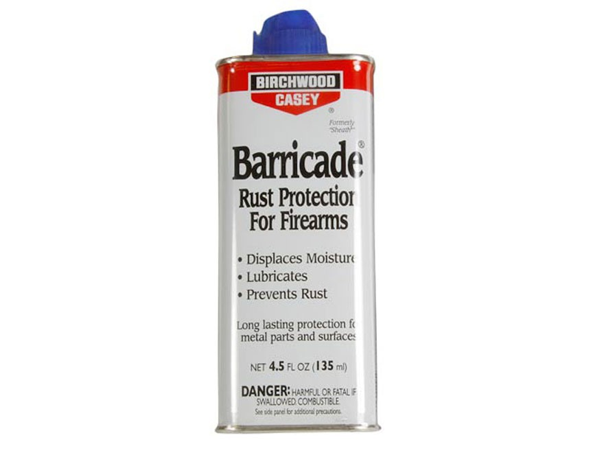 Birchwood Casey Barricade Rust Protection 4.5 oz Liquid