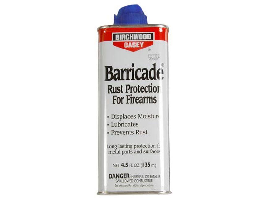 Birchwood Casey Barricade Rust Protection 4.5 oz Liquid