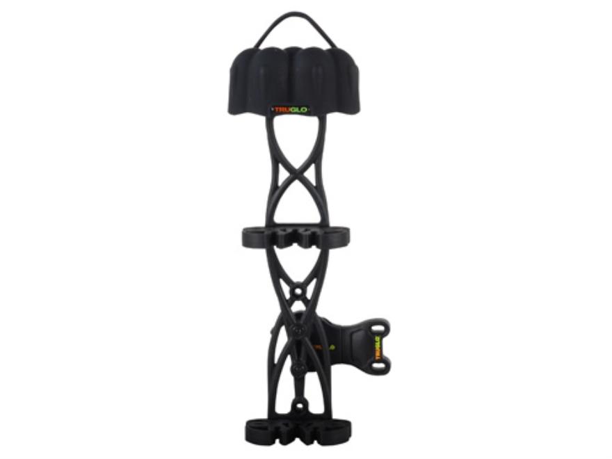 TRUGLO Carbon XS 5-Arrow Detachable Bow Quiver Carbon Composite Black