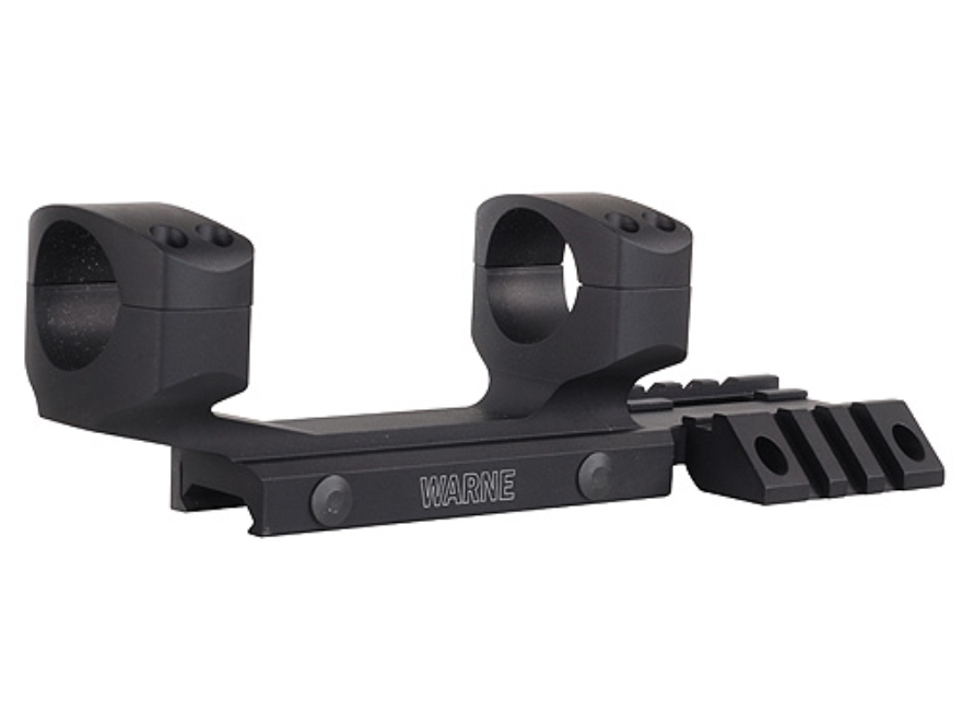 Warne Ramp 1 Piece Extended Scope Mount Picatinny Style