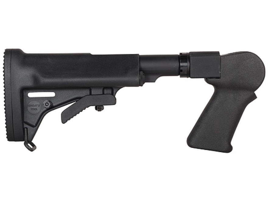 Choate Adjustable Stock Thompson Center Encore (Only) Rifle Steel and Synthetic Black