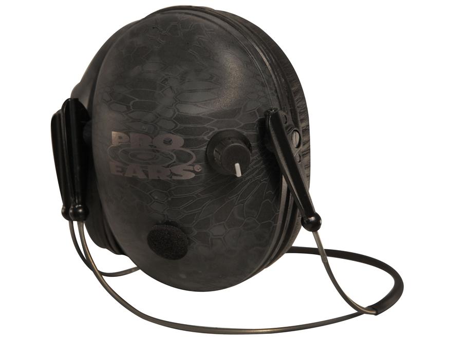 Pro Ears Pro 200 Behind-the-Head Electronic Earmuffs (NRR 19 dB)