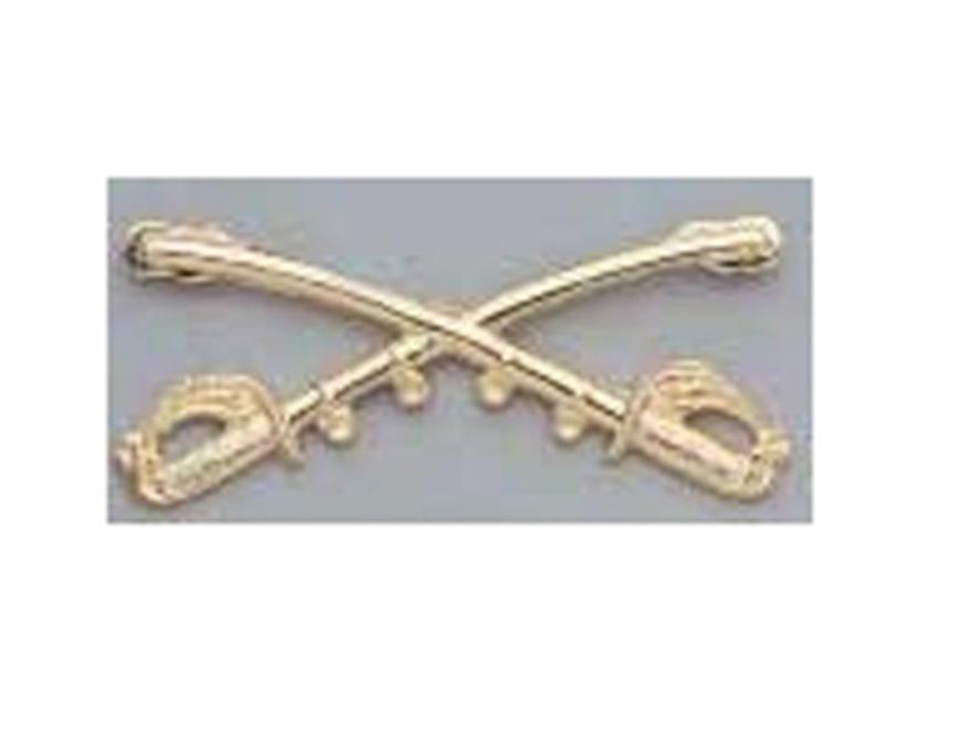Collector's Armoury Replica Civil War Cavalry Insignia Brass
