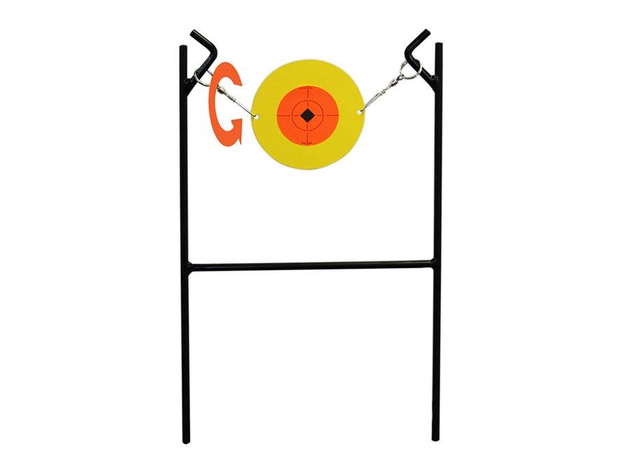 Birchwood Casey Little Rattler Metal Spinner Target 22 Rimfire Target Steel Black
