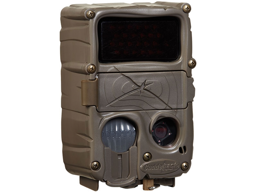 Cuddeback Xchange Black Flash Game Camera 20 MP Brown