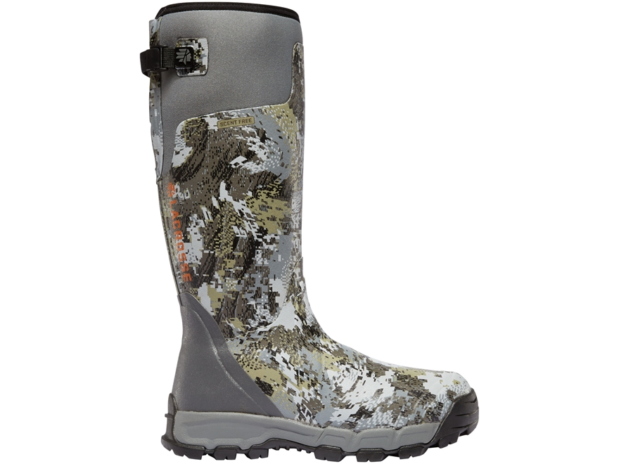 "LaCrosse Alphaburly Pro 18"" Waterproof Hunting Boots Rubber Clad Neoprene Men's"