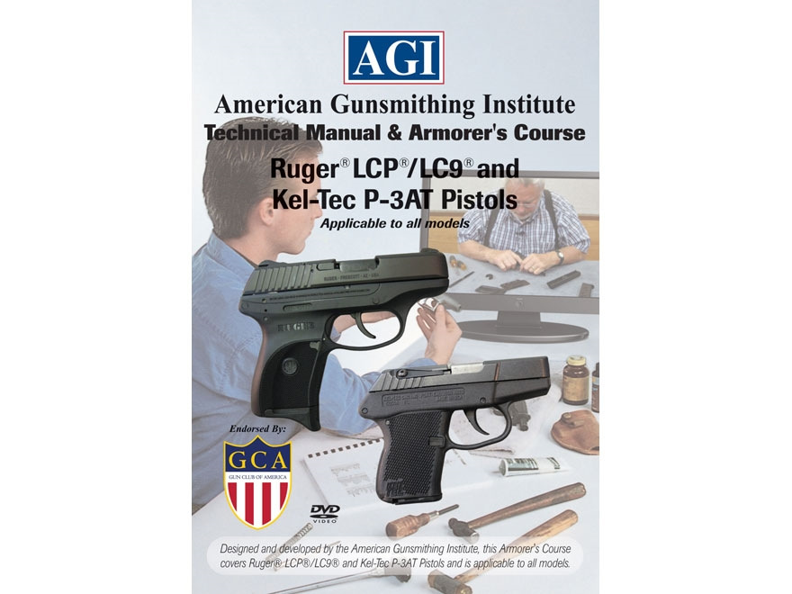 """American Gunsmithing Institute (AGI) Technical Manual & Armorer's Course Video """"Ruger L..."""