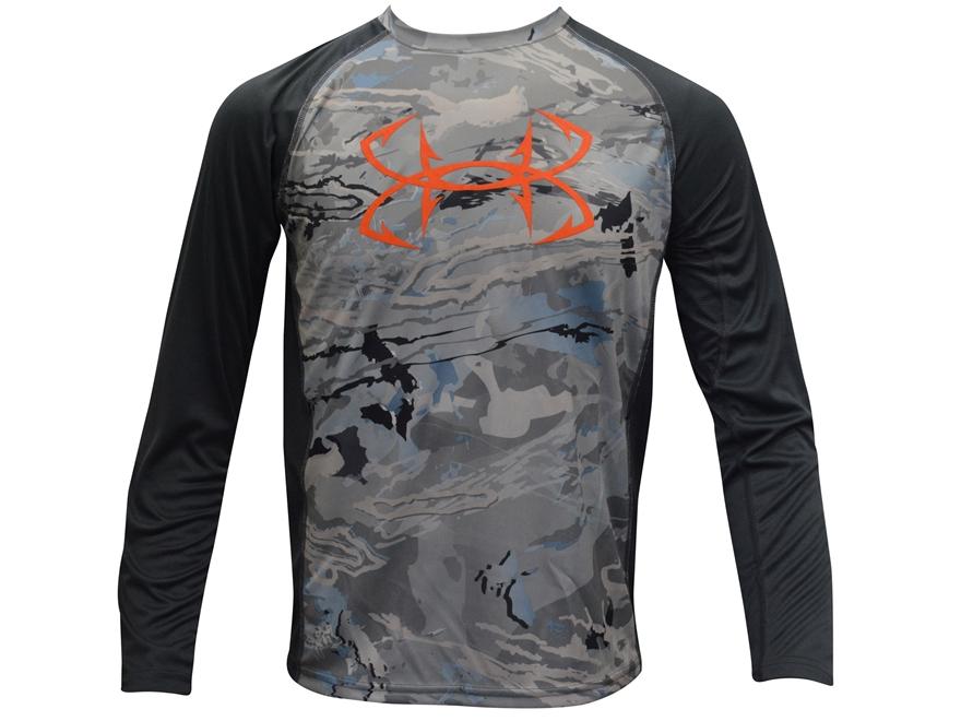 Under armour youth ua fish hunter tech shirt long upc for Under armour fish hunter shirt