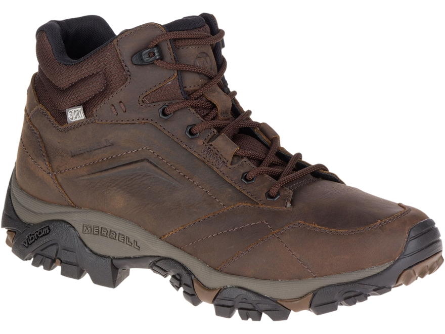 """Merrell Moab Adventure Mid 5"""" Waterproof Hiking Boots Leather/Synthetic"""