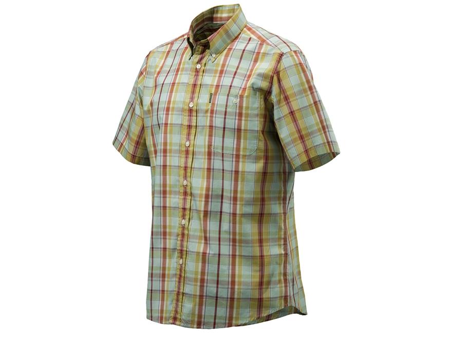 Beretta Men's Drip Dry Shirt Short Sleeve