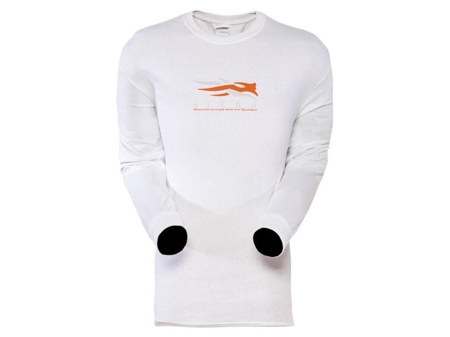 Sitka Gear Men's Alaska Word Map Long Sleeve Shirt Cotton