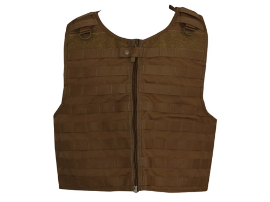Spec.-Ops. Over-Armor MOLLE Load Bearing Vest Nylon Coyote Brown
