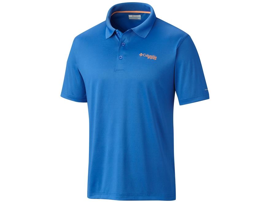 Columbia Men's PFG Low Drag Polo Short Sleeve Polyester