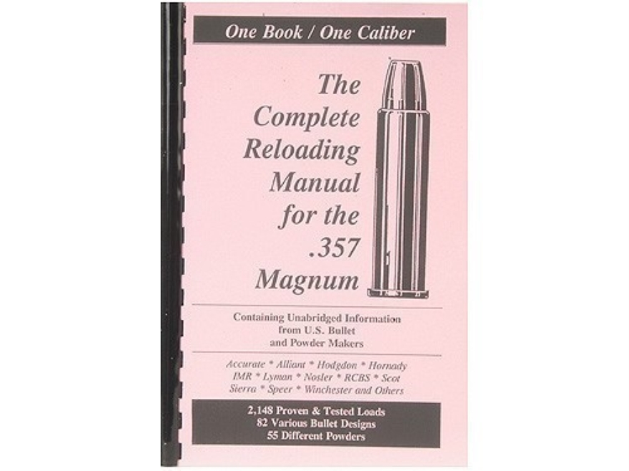 "Loadbooks USA ""357 Magnum Handgun and Rifle"" Reloading Manual"