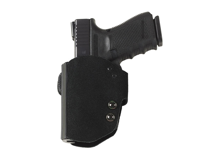 Galco BlakGuard Belt Holster Glock 19, 23, 32 Polymer and Leather Black