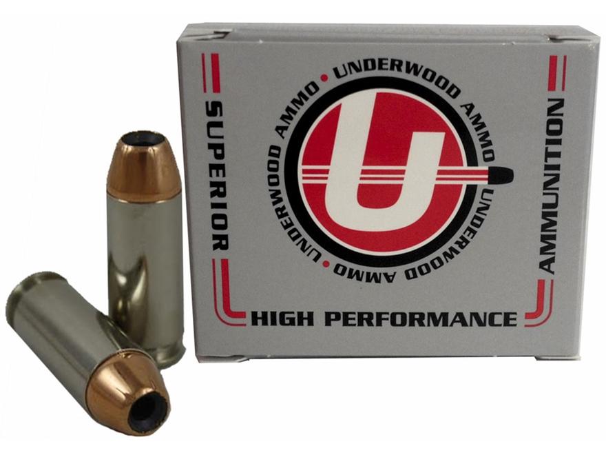 Underwood Delta Elite Ammunition 10mm Auto 180 Grain Jacketed Hollow Point Box of 20