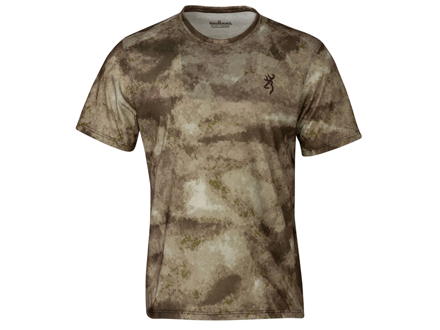Browning Men's Hell's Canyon Speed Speed Kills T-Shirt Short Sleeve Polyester A-TACS