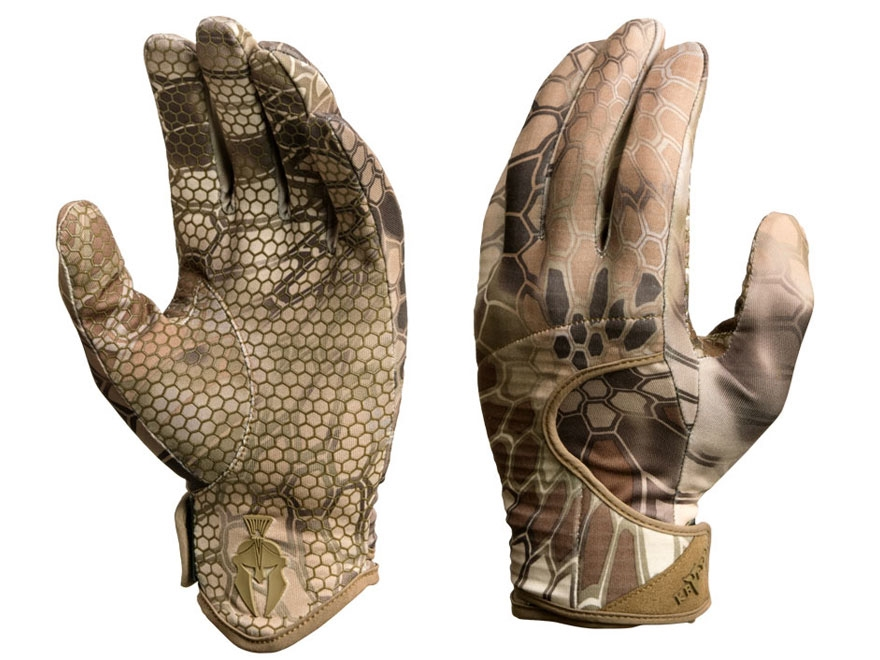 Kryptek Men's Krypton Gloves Polyester Highlander Camo