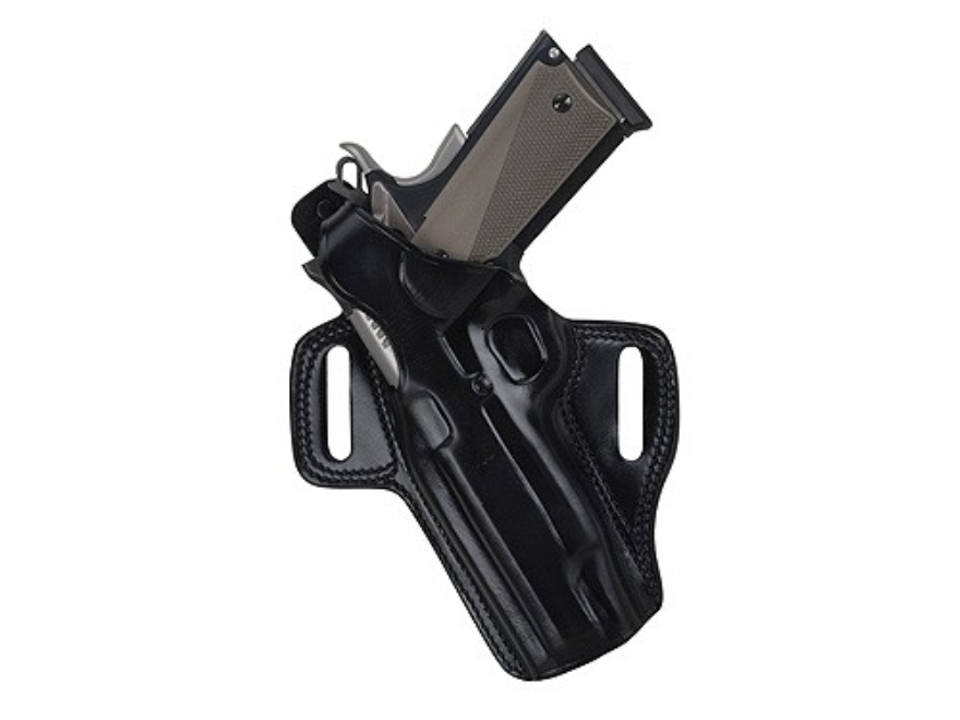 Galco Fletch Belt Holster Left Hand H&K USP Compact 45 ACP Leather Black
