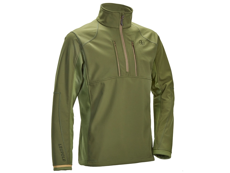 Leupold Men's Secluded 1/2 Zip Pullover Jacket Polyester