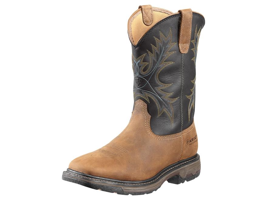 "Ariat Workhog 11"" WST Waterproof Work Boots Leather"