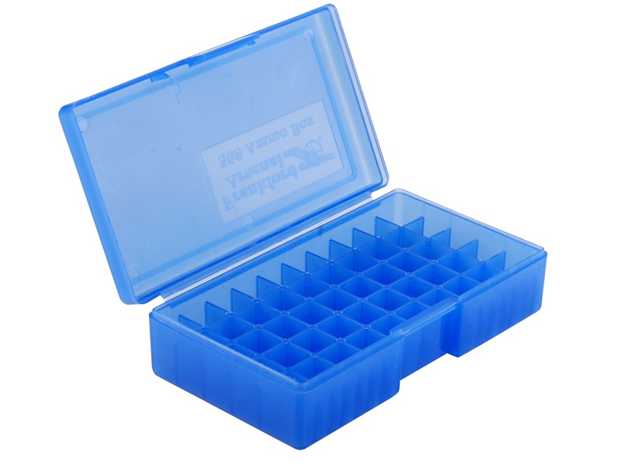 Frankford Arsenal Flip-Top Ammo Box #508 40 S&W, 10mm Auto, 45 ACP 50-Round Plastic