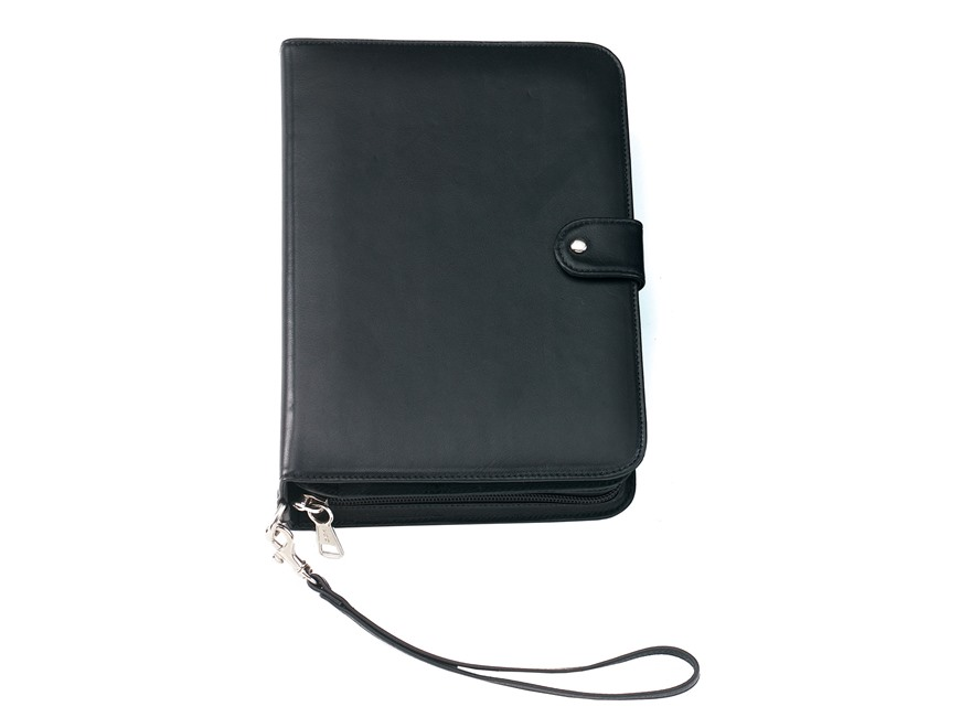 Galco iDefense iPad, Tablet and E-Reader Case and Holster Leather Black