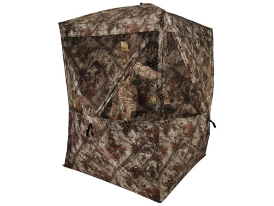 "Ameristep Harvester Ground Blind 74"" x 74"" x 82"" Polyester Realtree AP Camo"