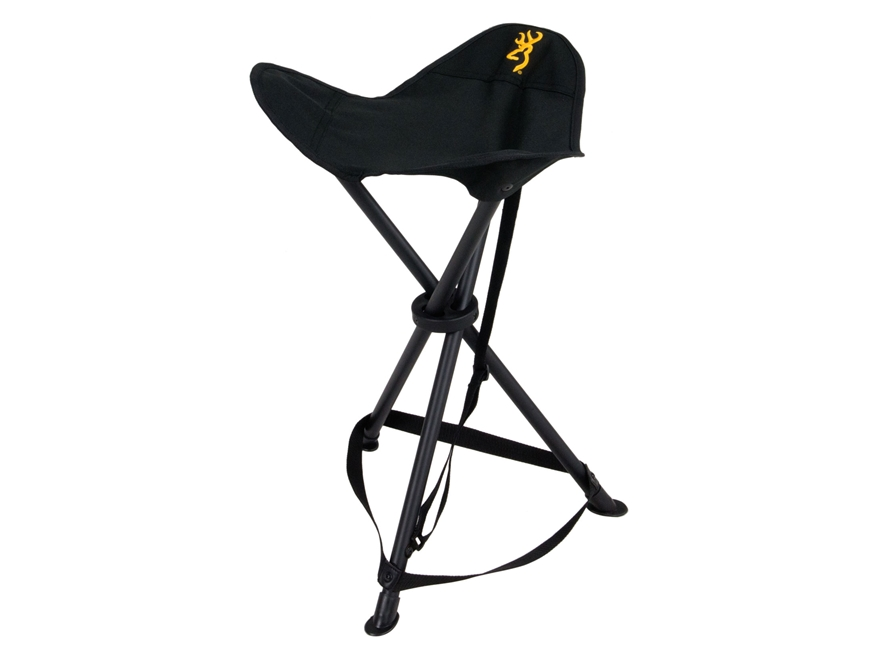 Browning Tri-leg XT Folding Tripod Hunting Chair Polyester and Steel Black