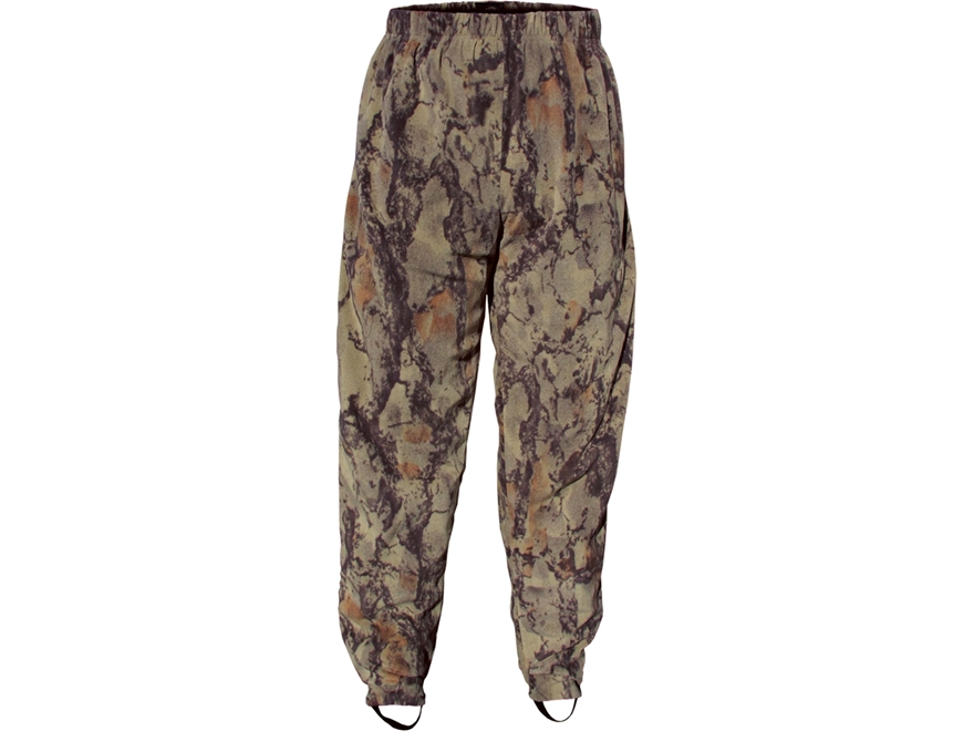 Natural Gear Men's Camp Fleece Layering Wader Pants Polyester Natural Camo