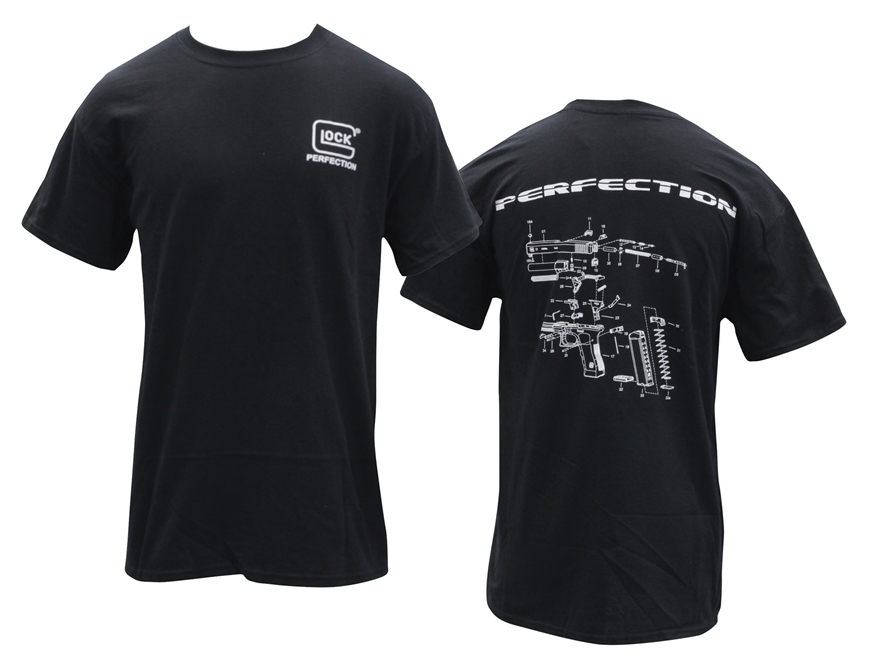 Glock Men's Breakdown T-Shirt Short Sleeve