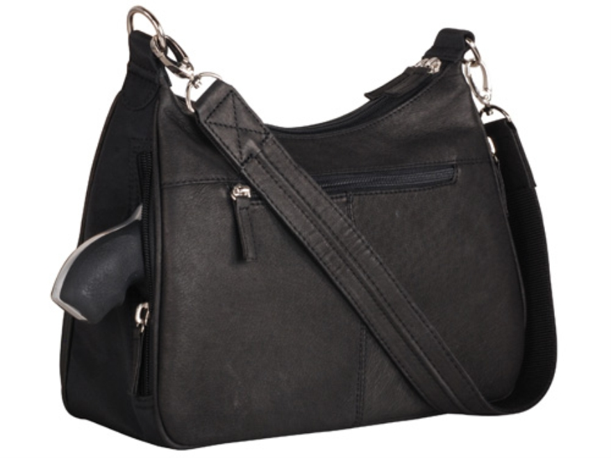 Gun Tote N Mamas Basic Hobo Concealed Carry Holster Handbag Small Frame Firearms Leather