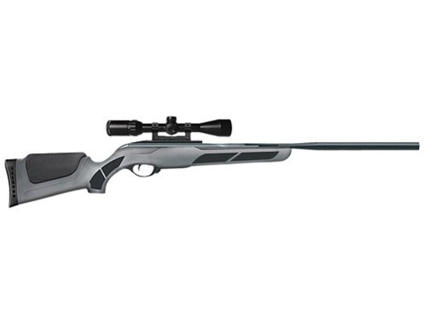 Gamo Viper Air Rifle 177 Caliber Black and Gray Synthetic Stock Blue Barrel with Gamo A...