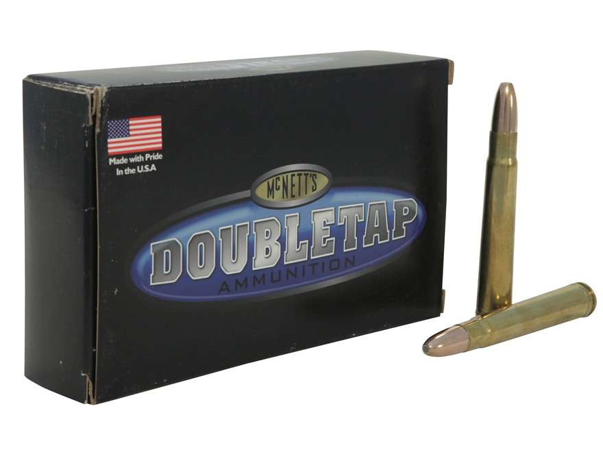 Doubletap Ammunition 375 H&H Magnum 350 Grain Woodleigh Weldcore Jacketed Soft Point Bo...