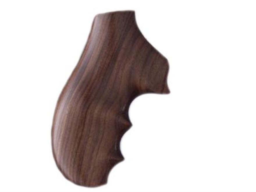 Hogue Fancy Hardwood Grips with Finger Grooves Ruger SP101